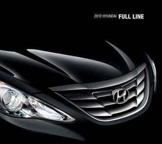 2012 Hyundai Automotive Model Range