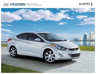 Hyundai Elentra 2013 (French)