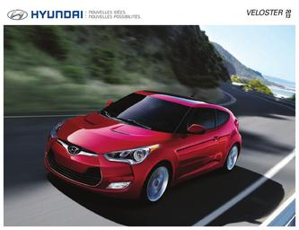 Hyundai Veloster 2013 (French)