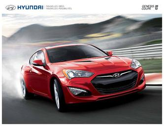Hyundai Genesis Coupe 2013 (French)