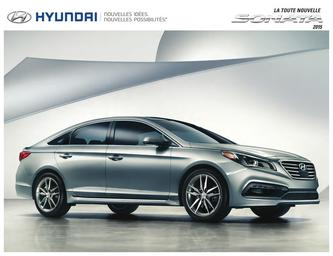 Hyundai Sonata 2015 (French)