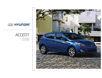 Hyundai Accent Berline 2016 (French)