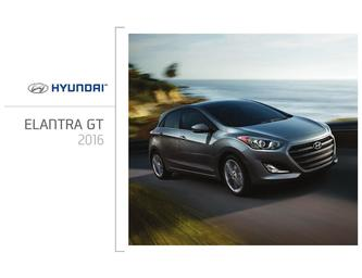 Hyundai Elentra GT 2016 (French)