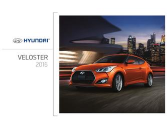 Hyundai Veloster 2016 (French)