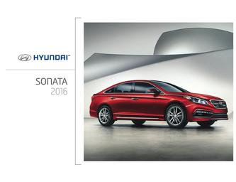 Hyundai Sonata 2016 (French)