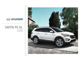 Hyundai Santa Fe XL 2016 (French)