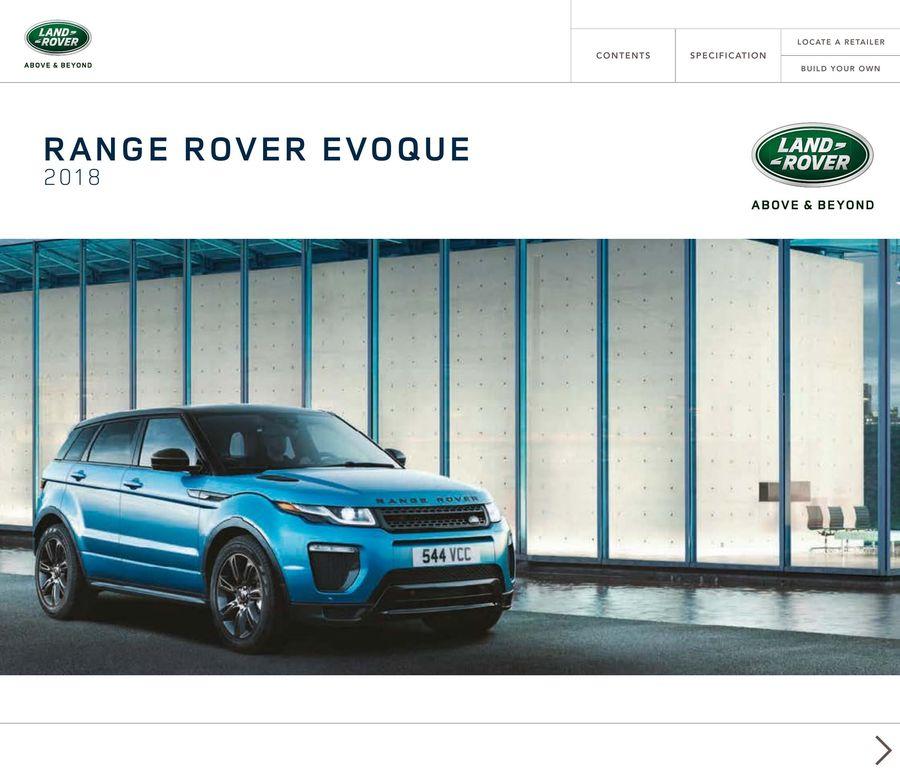 2018 1 Range Rover Evoque By Land Rover Usa