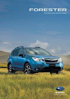 Subaru New Forester 2013