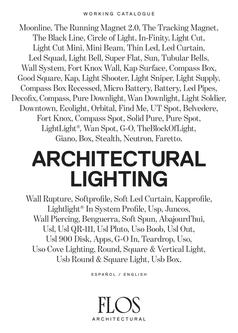 Architectural Lighting 2015