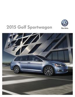 2015 Golf Sportswagon