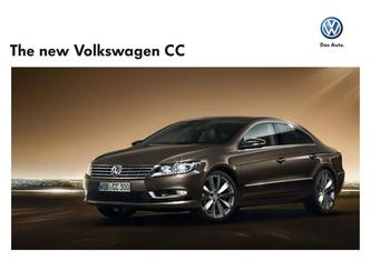 The new Volkswagen CC 2015