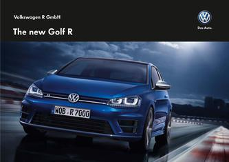The new Golf R 2015