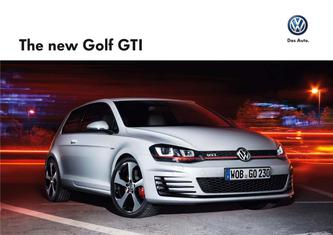 The new Golf GTI 2015