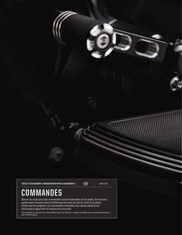 COMMANDES d'origine H-D 2015 (French)