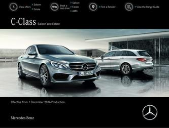 C-Class Saloon and Estate December 2016