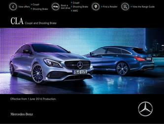 CLA Coupé and Shooting Brake June 2016