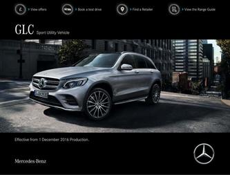 GLC Sport Utility Vehicle December 2016