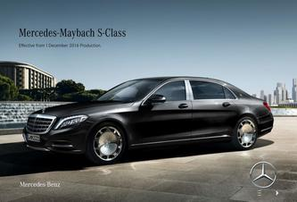 Mercedes-Maybach S-Class December 2016