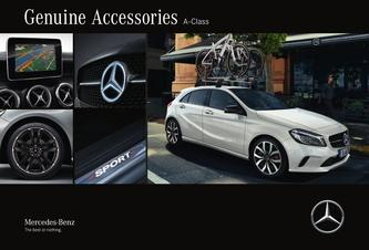 Genuine Accessories A-Class 2016