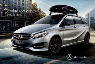 Genuine Accessories for the B-Class 2016