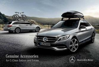 Genuine Accessories for C-Class Saloon and Estate 2016