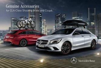 Genuine Accessories for CLA-Class Shooting Brake and Coupé 2016