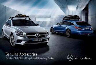 Genuine Accessories for the CLS-Class Coupé and Shooting Brake 2016