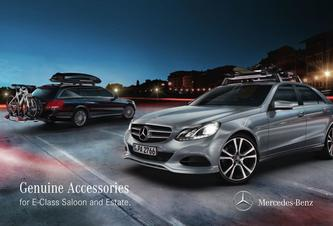 Genuine Accessories for E-Class Saloon and Estate 2016