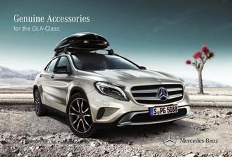 Genuine Accessories for the GLA-Class 2016