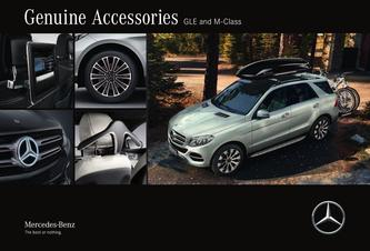 Genuine Accessories GLE and M-Class 2016