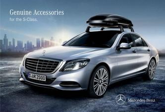 Genuine Accessories for the S-Class 2016
