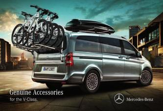 Genuine Accessories for the V-Class 2016