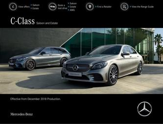 C-Class Saloon and Estate December 2018