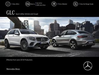 GLC Sport Utility Vehicle and Coupé June 2018