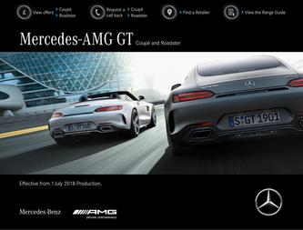 Mercedes-AMG GT Coupé and Roadster July 2018
