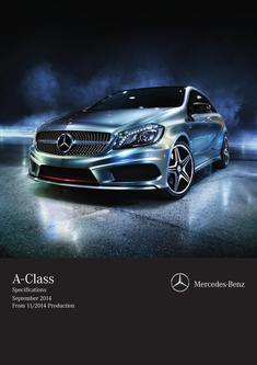 A-Class Specifications September 2014