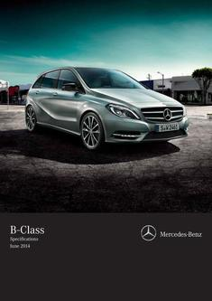 B-Class Specifications June 2014