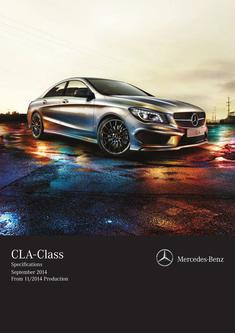 CLA-Class Specifications September 2014