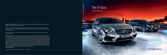 The E-Class.  Saloon and Estate
