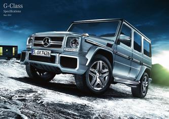 G-Class Specifications May 2014