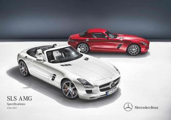 SLS AMG Specifications  4 July 2012
