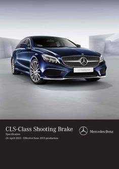 CLS Shooting Brake Specifications 2015