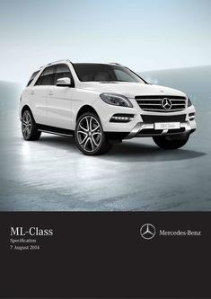 M-Class SUV Specifications 2015