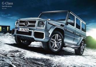 G-Class SUV Specifications 2015