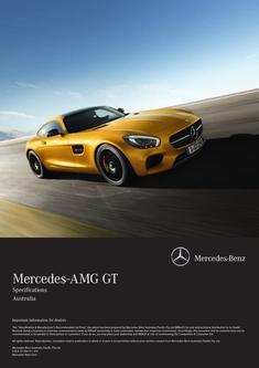 Mercedes-AMG GT Specifications 2015