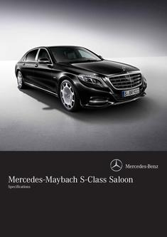Mercedes-Maybach Specifications 2015
