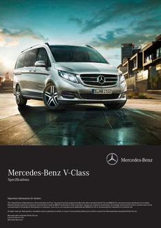 V-Class Specifications 2015