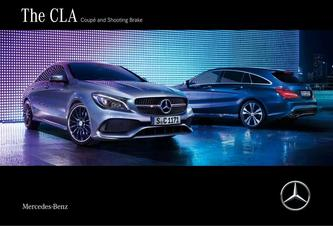 The CLA Coupé and Shooting Brake 2018