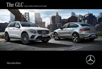The GLC Sport Utility Vehicle and Coupé 2018