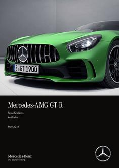 Mercedes-AMG GT R Specifications Australia May 2018